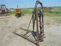 1957 Continental Tractor Mounted Post Hole Digger
