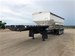2017 B-B 24-Ton Tri-Axle Dry Tender Trailer