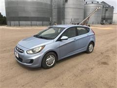 2012 Hyundai Accent 4 Door Sedan