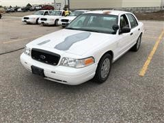2008 Ford Crown Victoria Police Interceptor Car