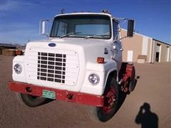 1985 Ford 700 Cab And Chassis