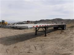 2000 East FLBTR T/A Flatbed Trailer