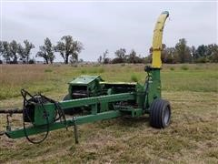 John Deere 3960 Pull-Type Silage Cutter