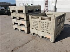 Macro Plastics Shuttle Bin 330 Collapsible Containers