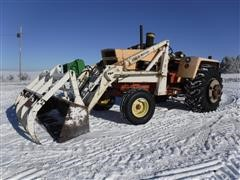 1970 Case 1070 2WD Tractor W/Loader