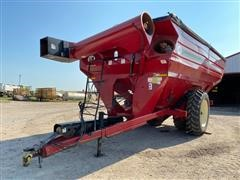 2014 J&M 1326-22 Grain Cart