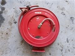 Retractable Air Hose Reel W/Air Hose