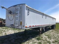 1990 Wilson DWH-200 Pacesetter T/A Grain Trailer W/Hyd Traps