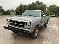 1991 Dodge 250 4x4 Pickup