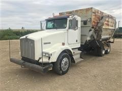 1991 Kenworth T800 T/A Feed Truck
