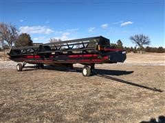2001 Case IH 1042 Header & Trailer