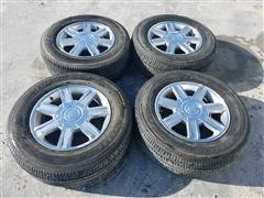 Cadillac Escalade Wheels & Bridgestone Dueler H/T Tires