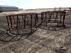 Wolles 8' Heavy Duty Round Bale Feeders