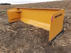 2019 Industrias America SP09 9' Wide Snow Pusher Skid Steer Attachment