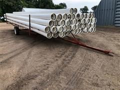 Kroy Irrigation Pipe On Trailer
