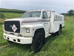 1987 Ford F600 Delivery Truck
