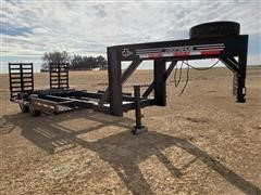 2008 Donahue EXG-180 T/A Implement Trailer
