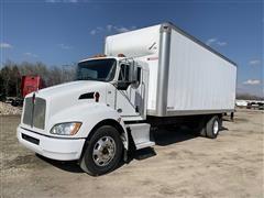 2014 Kenworth T270 S/A Box Truck