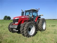 2013 Massey Ferguson 8660 MFWD Tractor