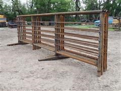 D&S Welding Tall Heavy Duty Freestanding Livestock Panels