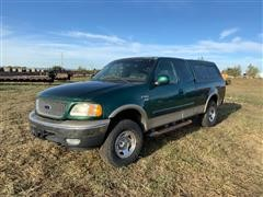 1999 Ford F150 Extended Cab 4x4 Pickup