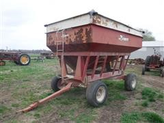 Demco 300 Bushel Gravity Box On Demco HD Running Gear