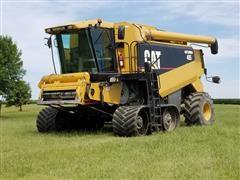 2001 Caterpillar CLAAS Lexion 485 Tracked Combine W/RWA