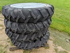 Rainmax 11.2 X 38 Directional Pivot Tire And Wheel Assembly