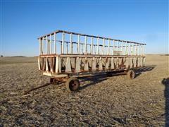 Dakon 24' Portable Feeder Wagon