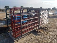 "Behlen Mfg 2"" Diameter 6 Rail Heavy Duty Gates"