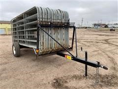 Winkel Livestock Panels On Panel Trailer