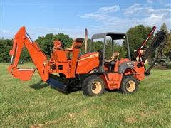 2002 DitchWitch RT70H Trencher/Backhoe/Backfill Blade