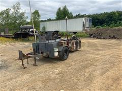 Asphalt Sealer Wagon W/Additional Portable Sealer Tank