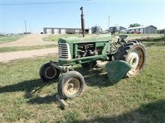 1949 Oliver 77 Row Crop 2WD Tractor