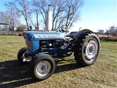 1966 Ford 4000 2WD Diesel Utility Tractor