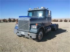 1985 White WIM64T T/A Truck Tractor