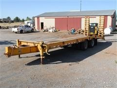 2000 Belshe T-10 T/A Equipment Trailer