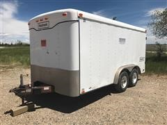 1998 Haulmark T/A Enclosed Trailer w/ Leroy Somer Generator