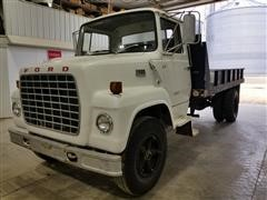 1976 Ford L8000 Flatbed Dump Truck