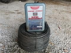 Parmak Super Energizer 4 Fence Charger & Electric Fence Wire