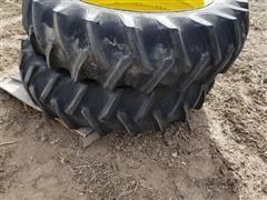 15.5-38 Tires & Rims