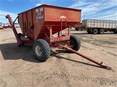 M&W Little Red Wagon Gravity Wagon/Seed Tender