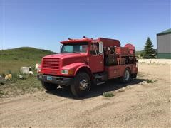 1990 International 4900 4x2 Fuel & Lube Truck