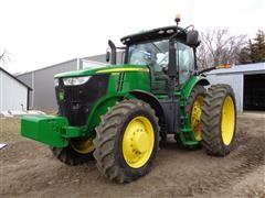 2012 John Deere 7260R MFWD Tractor
