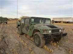 1987 Am General M998 Humvee Army Vehicle