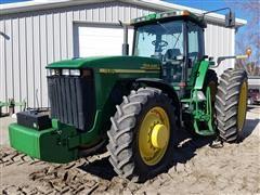1999 John Deere 8410 MFWD Tractor