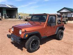 2002 Jeep Wrangler X 4x4 SUV