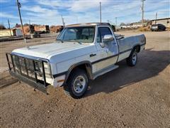 1993 Dodge W150 4x4 Pickup