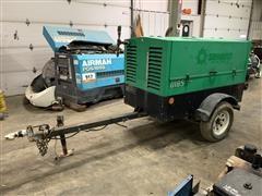 2012 Sullivan Palatek D185P3JDSR Portable Air Compressor