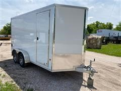 2019 Stealth C7X14 T/A V Nose Cargo Trailer